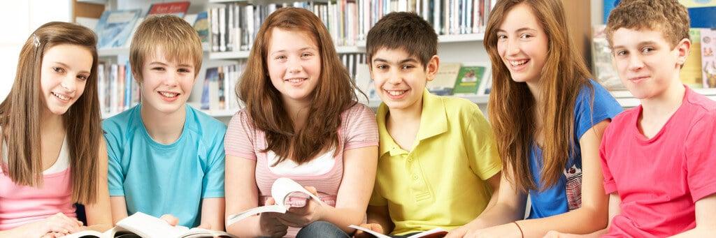 Leseecke in der Schule
